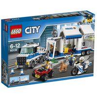 Klocki dla dzieci, LEGO City: Mobile Command Center (60139)