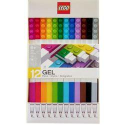 51639 DŁUGOPISY ŻELOWE 12 SZT - LEGO GADŻETY
