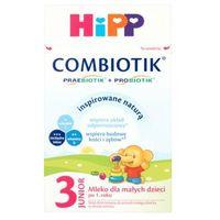Mleka modyfikowane, Hipp Combiotik 3 Ekologiczne mleko dla dzieci po 12ms, 600g