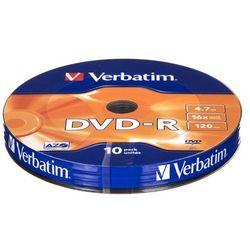 DVD-R Verbatim 4,7GB 10szt.- natychmiastowa wysyłka, ponad 4000 punktów odbioru!