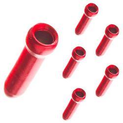 Końcówki linki ham. 1,8mm JAGWIRE czerwone 5szt