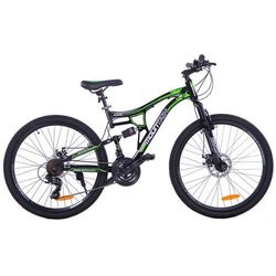 "MOUNTAIN FULL 26"" 2XT FD/RD black/green"