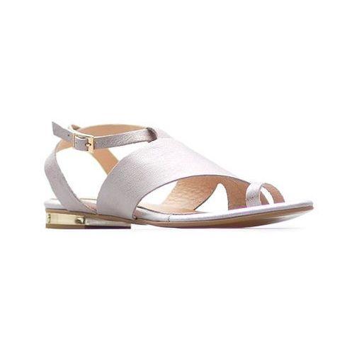 Sandały damskie, Sandały Damiss DS-129 Róż perła