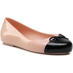 Baleriny MELISSA - Mini Melissa Sweet Love Cap To 33279 Glitter Rose/Black 53888