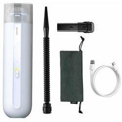 Baseus A2 Car Vacuum | Odkurzacz samochodowy bezprzewodowy 5000Pa filtr HEPA moc 70W - Biały