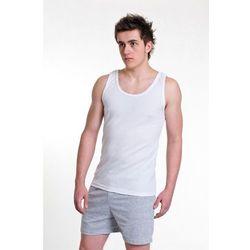 Koszulka Gucio ramiączko M-2XL ROZMIAR: 2XL, KOLOR: biały-gładki, Gucio