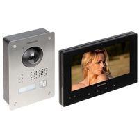 Domofony i wideodomofony, ZESTAW WIDEODOMOFONOWY DS-KIS701-B-D HIKVISION
