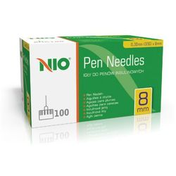 Igły do penów NIO Pen Needles 8mm x 0,30mm (30G) nio 8 (-18%)