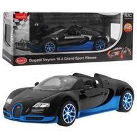 Pozostałe zdalnie sterowane dla dzieci, Duże Licencjonowane Zdalnie Sterowane Bugatti Veyron Grand Sport (1:14) + Bezprzewodowy Pilot.