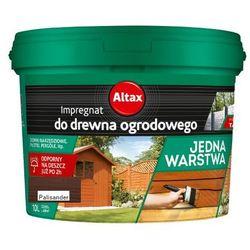 ALTAX- impregnat do drewna ogrodowego, palisander, 10 l