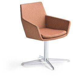 Krzesło konferencyjne FAIRVIEW, chrom, miedziany