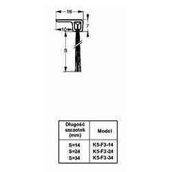 Listwa progowa STRIBO F3-14 1 mb