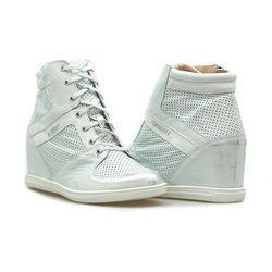 Sneakersy Eksbut 77-4451-F97/369/F29 Srebrne lico przecierane