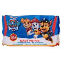 Chusteczki dla niemowląt, Nickelodeon Paw Patrol Baby Wipes Chusteczki oczyszczające 56szt