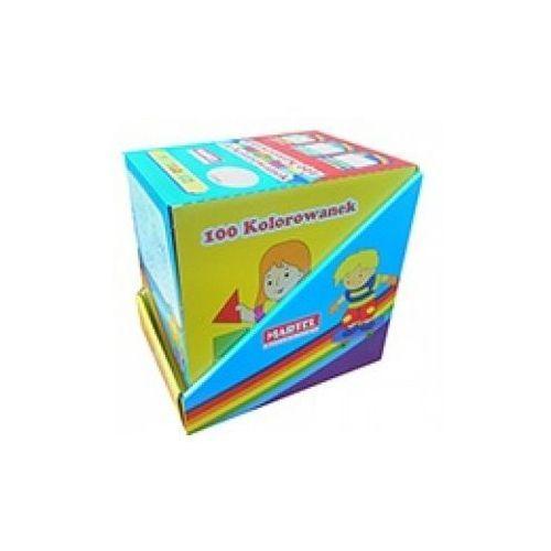 Kolorowanki, 100 kolorowanek - MIX w pudełku - Praca Zbiorowa