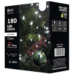 180 LED CHRISTMAS 18M CW, TIMER - Oświetlenie świąteczne