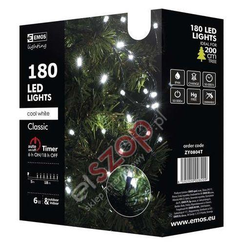 Ozdoby świąteczne, 180 LED CHRISTMAS 18M CW, TIMER - Oświetlenie świąteczne