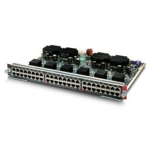 Routery i modemy ADSL, WS-X4548-GB-RJ45V Moduł Cisco Catalyst 4500 PoE 802.3af 10/100/1000, 48-Ports (RJ45)