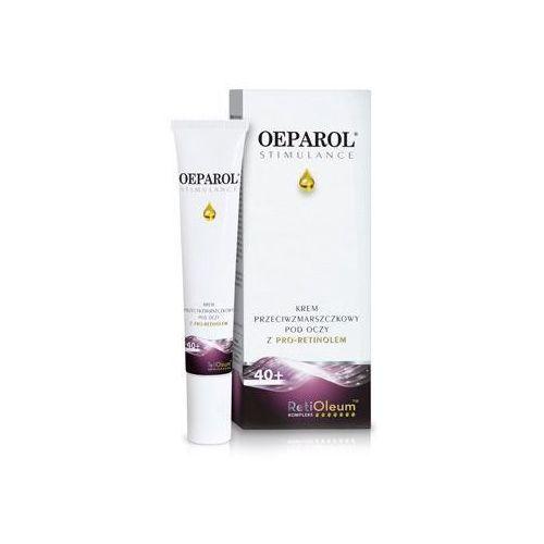 Kremy pod oczy, OEPAROL STIMULANCE Krem przeciwzmarszczkowy z Pro-Retinolem pod oczy 15ml