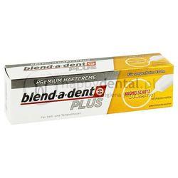 BLEND-A-DENT PLUS Krümelschutz (ochronny) 40g - klej do protez o wzmocnionym działaniu z precyzyjnym aplikatorem (ciemno złoty)