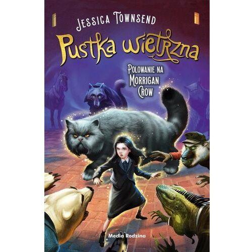Książki dla dzieci, Pustka wietrzna. polowanie na morrigan crow. nevermoor. tom 3 (opr. miękka)