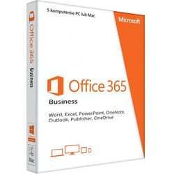 Office 365 PL Business (5 stanowisk, subskrypcja na 6 miesięcy) ESD