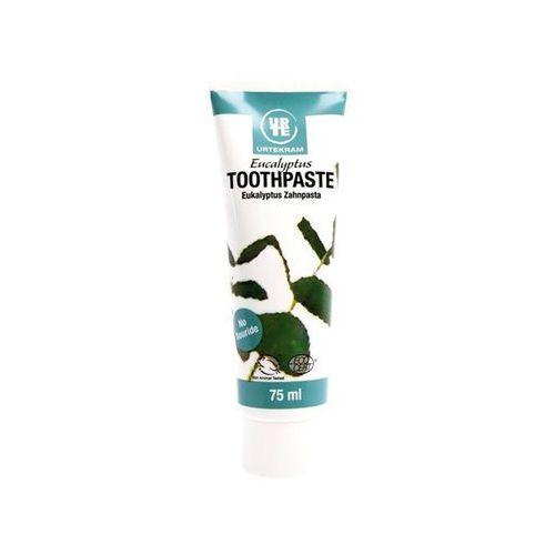 Pasty do zębów, Pasta do zębów eukaliptusowa BIO - 75 ml - URTEKRAM