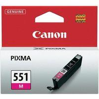 Tusze do drukarek, Canon oryginalny ink CLI551M, magenta, 7ml, 6510B001, Canon PIXMA iP7250, MG5450, MG6350, MG7550