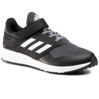 Buty sportowe dla dzieci, Buty adidas - FortaFaito El K EE7309 Dark Grey Heather/Cloud White/Core Black