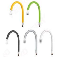 Ferro Elastico - elastyczna giętka wylewka do bateri zlewozmywakowej kolory szary biały zielony żólty czarny do baterii: ALGEO SQUARE, LUGIO, RATIO, ZUMBA