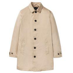 Krótki płaszcz bonprix beżowy