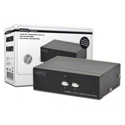 Przełącznik DIGITUS DS-44100-1 D-Sub (VGA) 2x D-Sub (VGA)