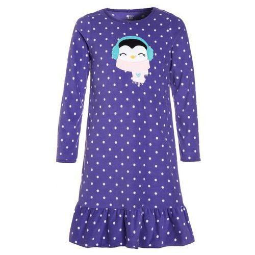Koszule dla dzieci, Carter's GIRL GOWN PENGUINE Koszula nocna purple