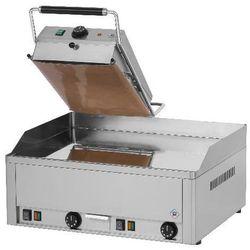 Płyta grillowa elektryczna podwójna z nakładką steak grill KD-63