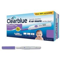 Testy płodności, CLEARBLUE pałeczki testowe owulacyjne DUAL 5szt.