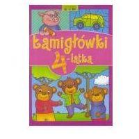 Książki dla dzieci, Łamigłówki 4-latka - Praca zbiorowa OD 24,99zł DARMOWA DOSTAWA KIOSK RUCHU (opr. broszurowa)