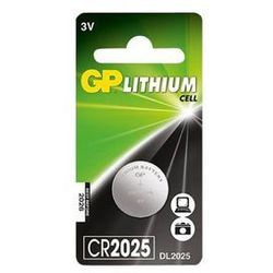 Baterie guzikowe GP CR2025-U4