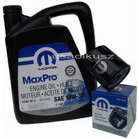 Filtry oleju, Oryginalny filtr oleju oraz olej MOPAR 10W30 Dodge Caravan 2,0 / 2,4