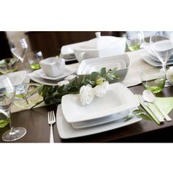 Lubiana Victoria serwis obiadowy na 12 osób 46 elementów