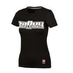 Koszulka damska Pit Bull Classic Boxing - Czarna (217045.9000)