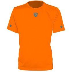 TTK CREW IRIDIUM NEON ORANGE - koszulka tenisowa R. S