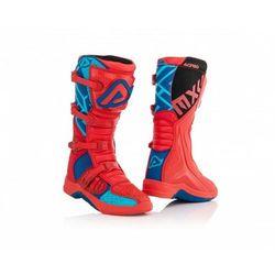 Acerbis Buty X-Team czerwono - niebieski