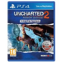 Gry na PlayStation 4, Uncharted 2 Among Thieves (PS4)