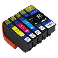 Tusze do drukarek, Komplet tuszy do Epson Expression Premium XP-600 XP-700 XP-800 TD-T2636 CMYK + Foto BK
