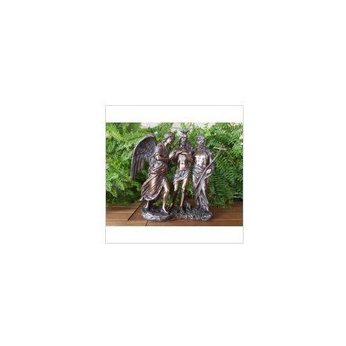 Rzeźby i figurki, RZEŹBA - CHRZEST JEZUSA CHRYSTUSA - VERONESE (WU75248A4)