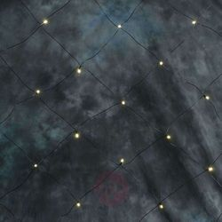 Sieć światełek LED 64-punktowych ciepła biel 2m