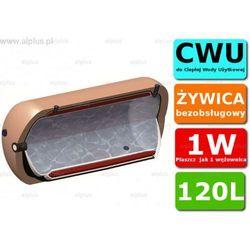 ERMET 120l poziomy dwupłaszczowy bojler do CWU - podgrzewacz wymiennik bezobsługowy - WYSYŁKA GRATIS