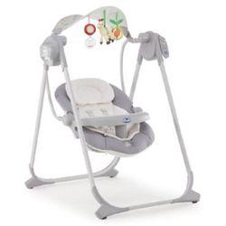 Huśtawka niemowlęca Chicco POLLY SWING UP (jasny szary)- wysyłamy do 18:30