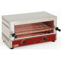 Grille gastronomiczne, Salamander-opiekacz elektryczny   1 poziom   kwarc   2700W   640x380x(H)330mm