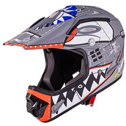 Kask Downhill na rower motor enduro W-TEC FS-605 Allride, Cartoon, S (55-56)